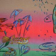 Louise Rath – artworks (Siebdruck, Stickerei)