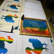 Louise Rath – Siebdruckwerkstatt